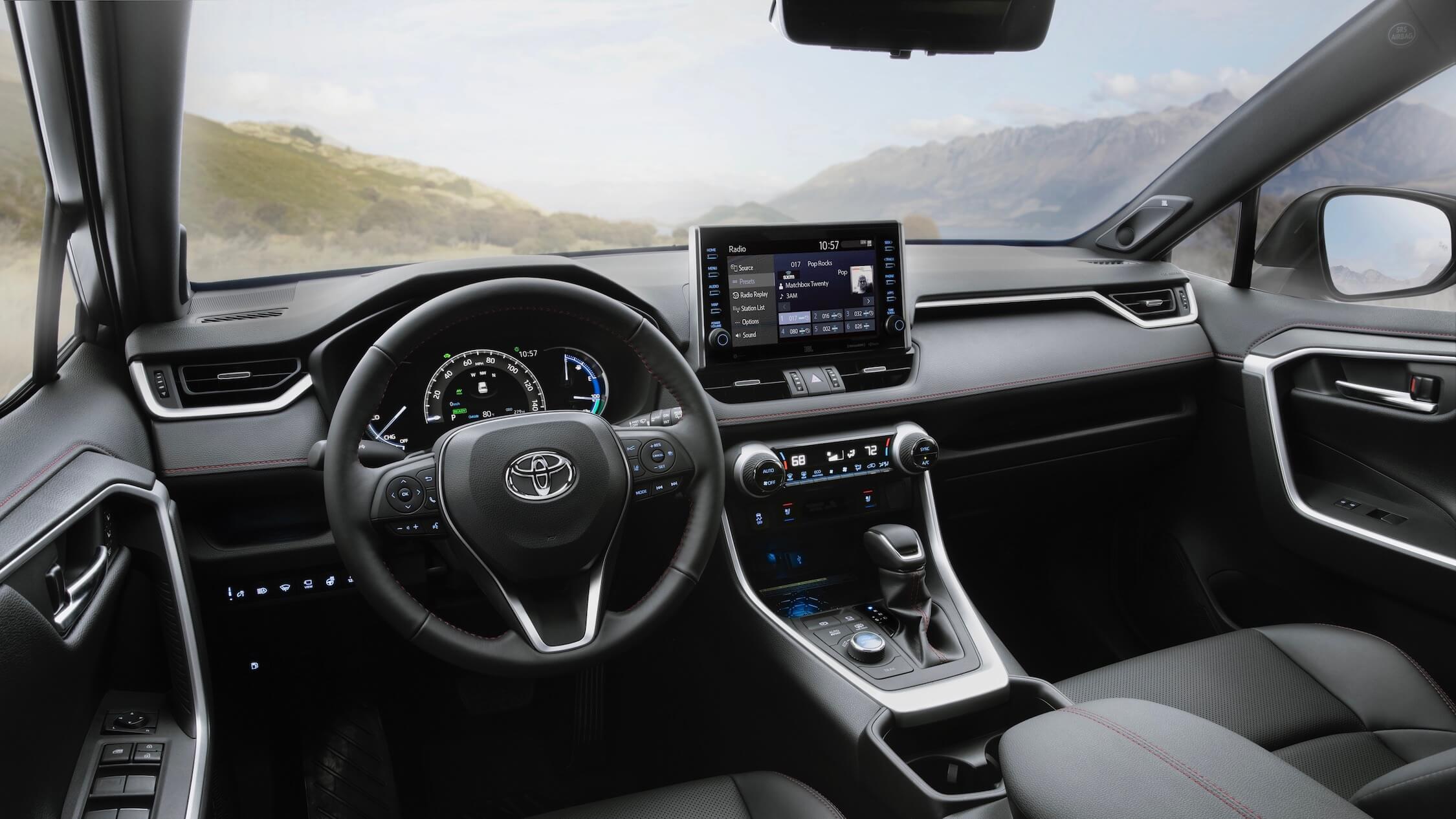 Toyota RAV4 PHEV interieur