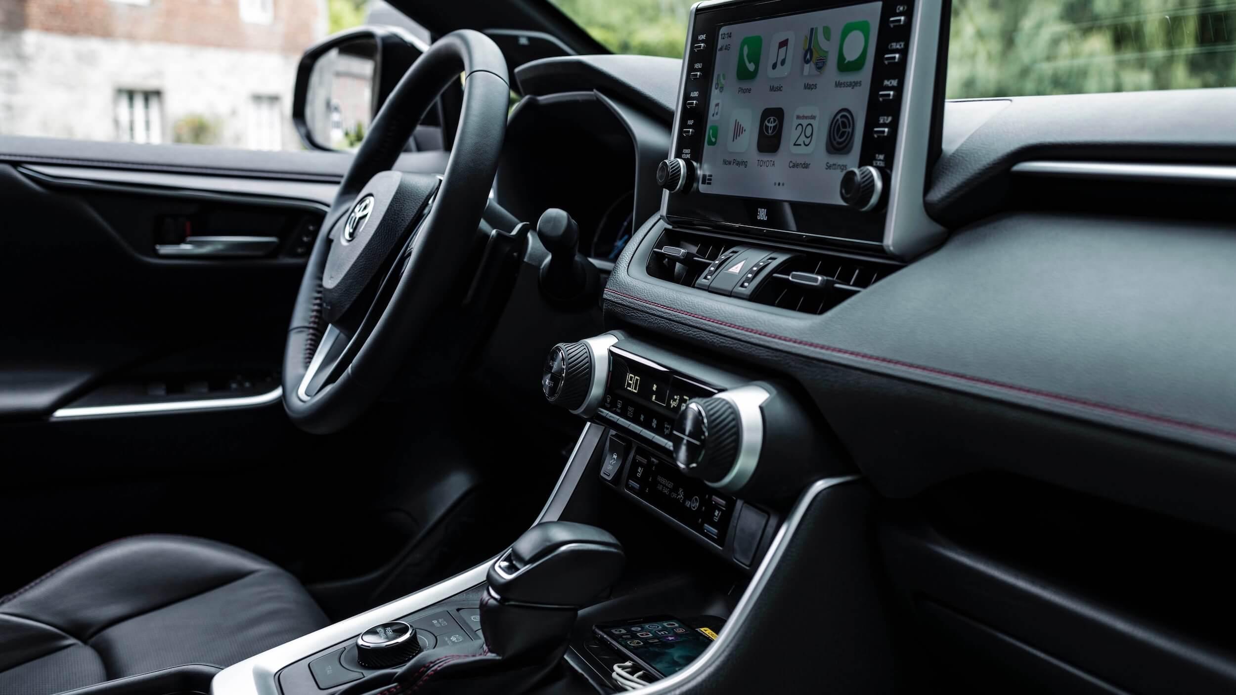 Toyota RAV4 Plug in hybride dashboard