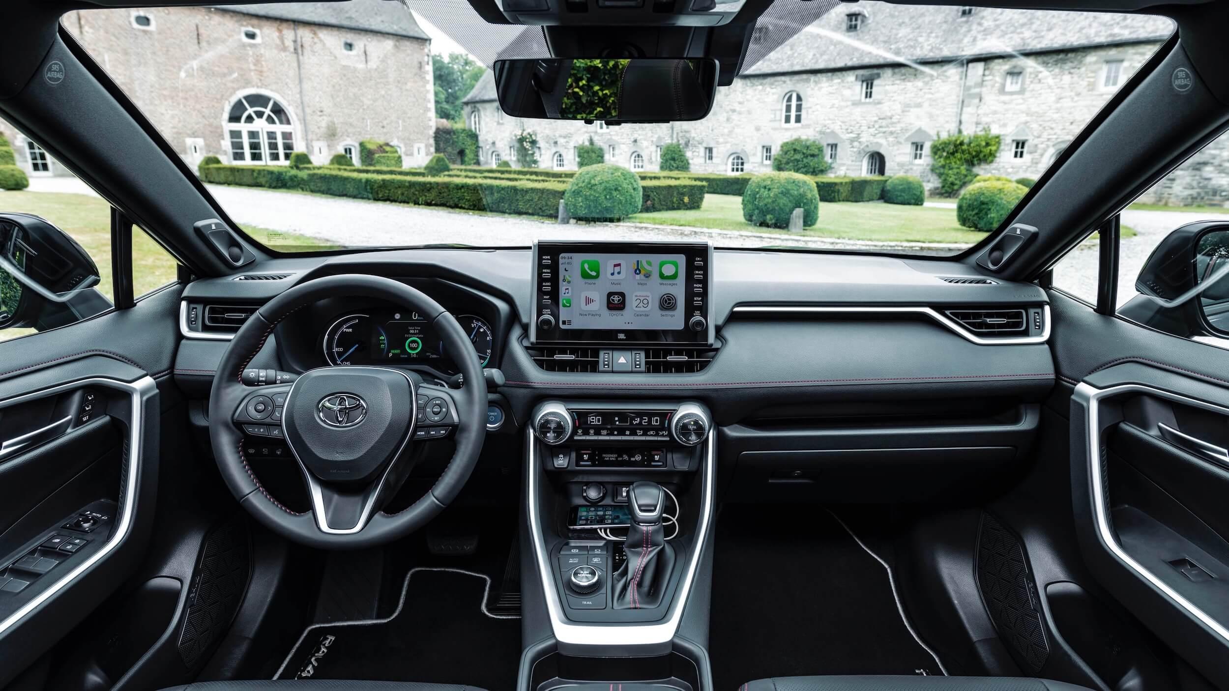 Toyota RAV4 Plug in hybride interieur