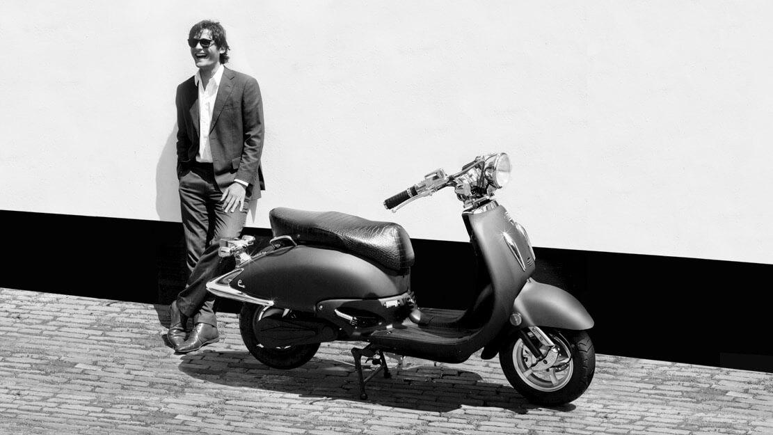 ebretti elektrische scooter