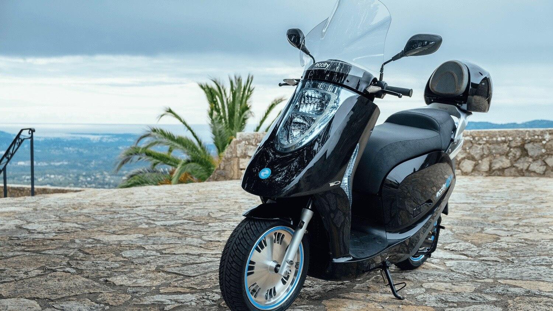 eccity elektrische scooter