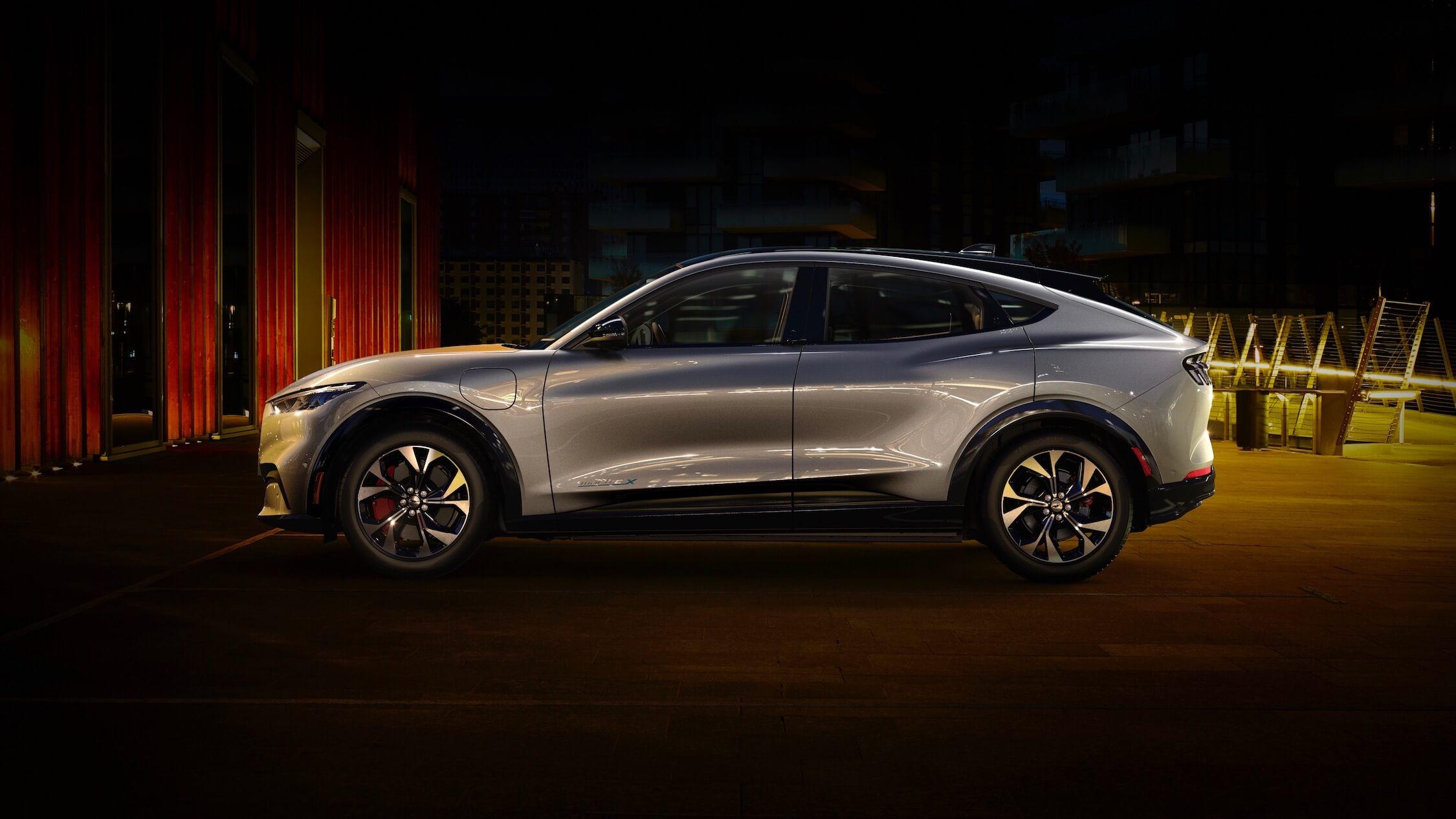 elektrische Ford Mustang profiel