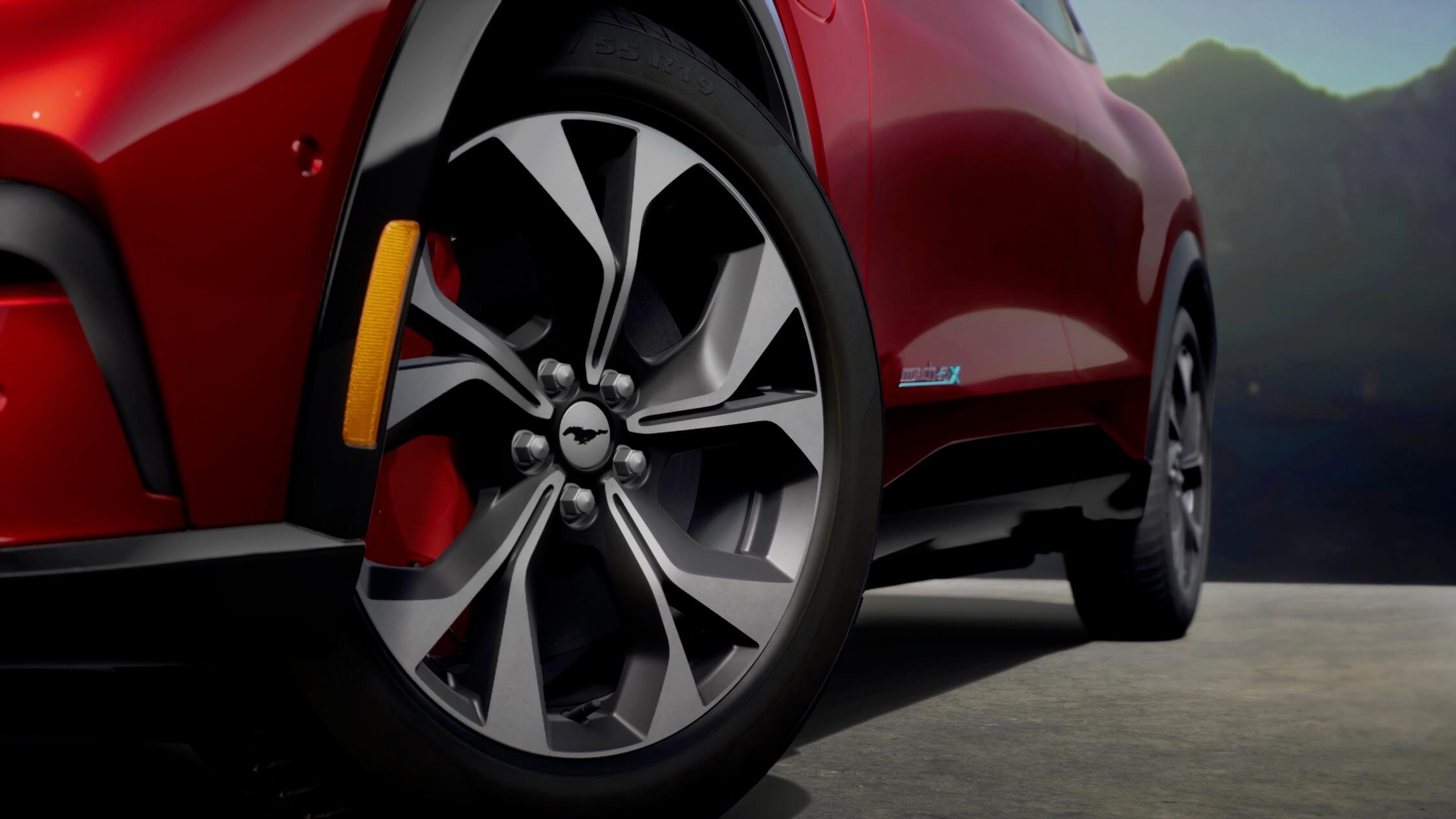 elektrische Ford Mustang velgen