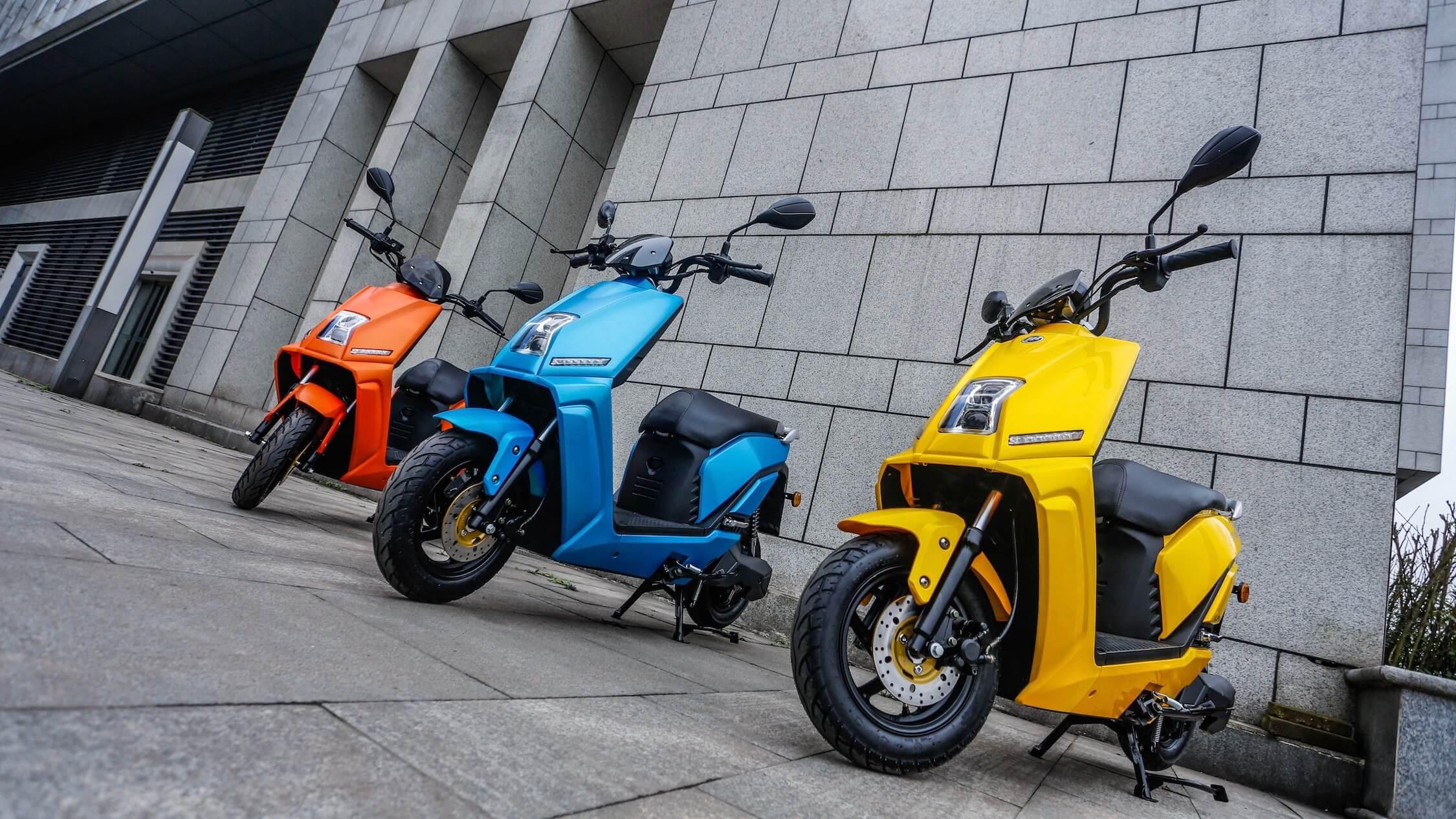 elektrische Lifan E3 scooters