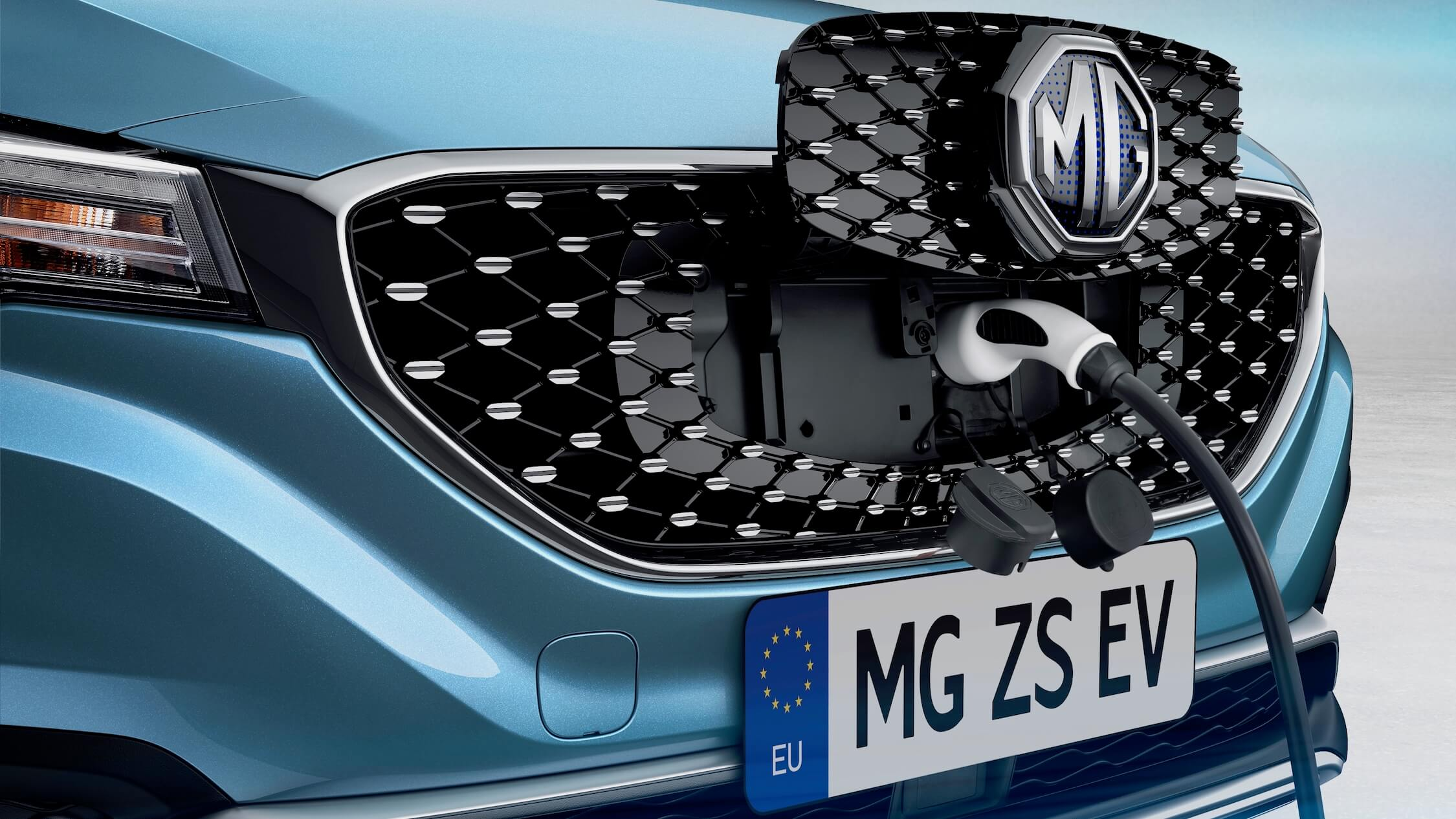 elektrische MG ZS opladen