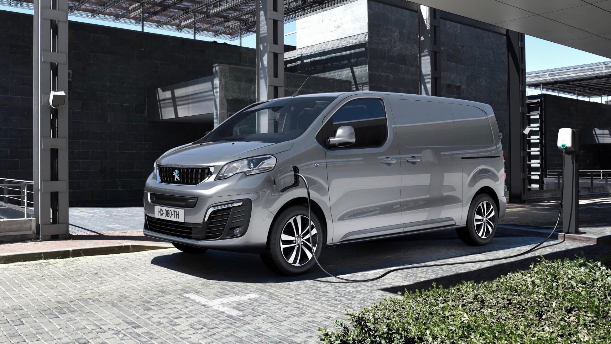 elektrische Peugeot Expert bestelwagen