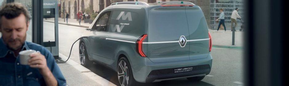 elektrische bestelwagen opladen in 2020