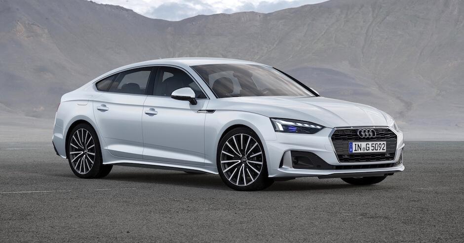 2020 Audi A5 op aardgas