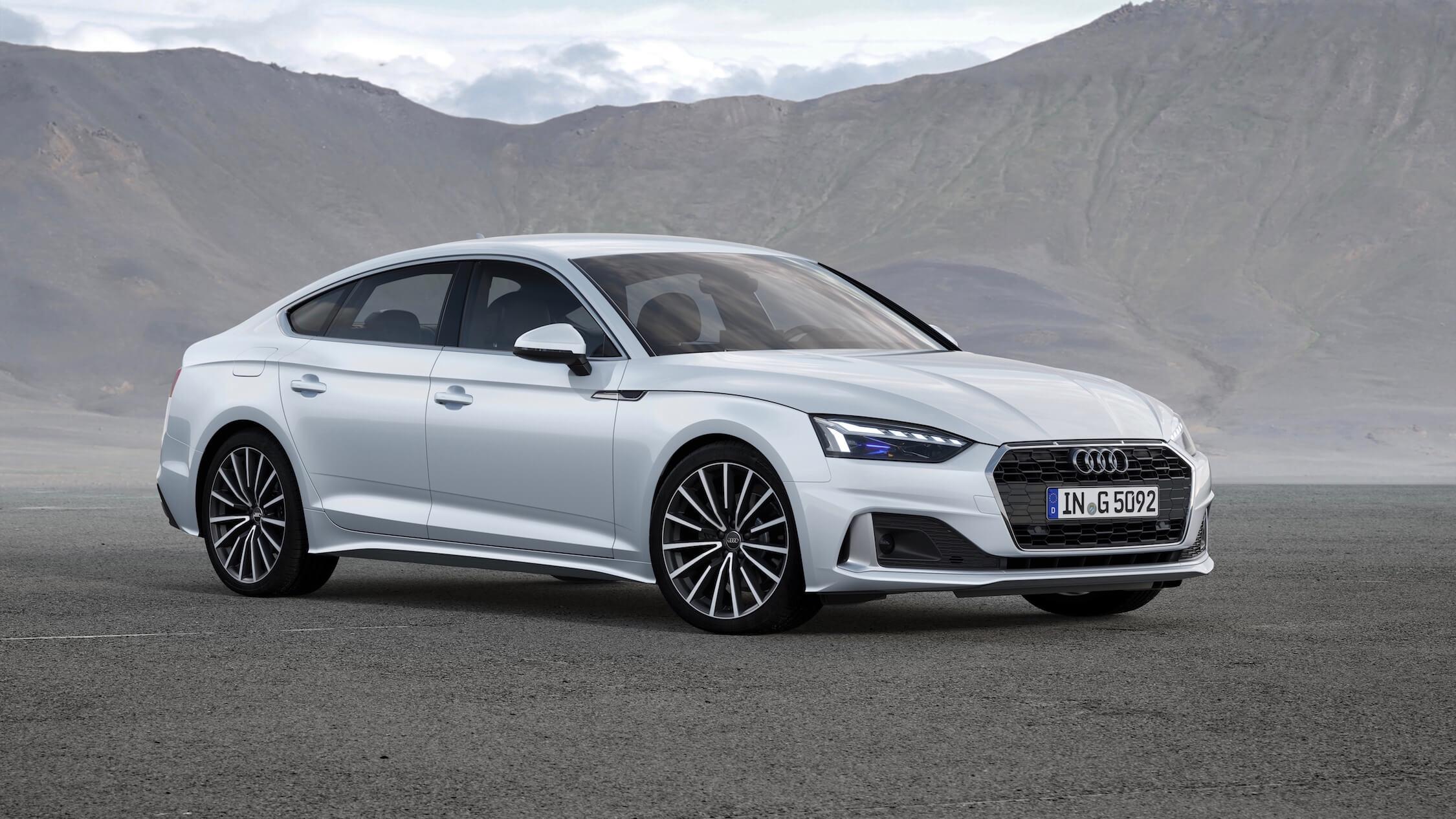 Audi A5 aardgas