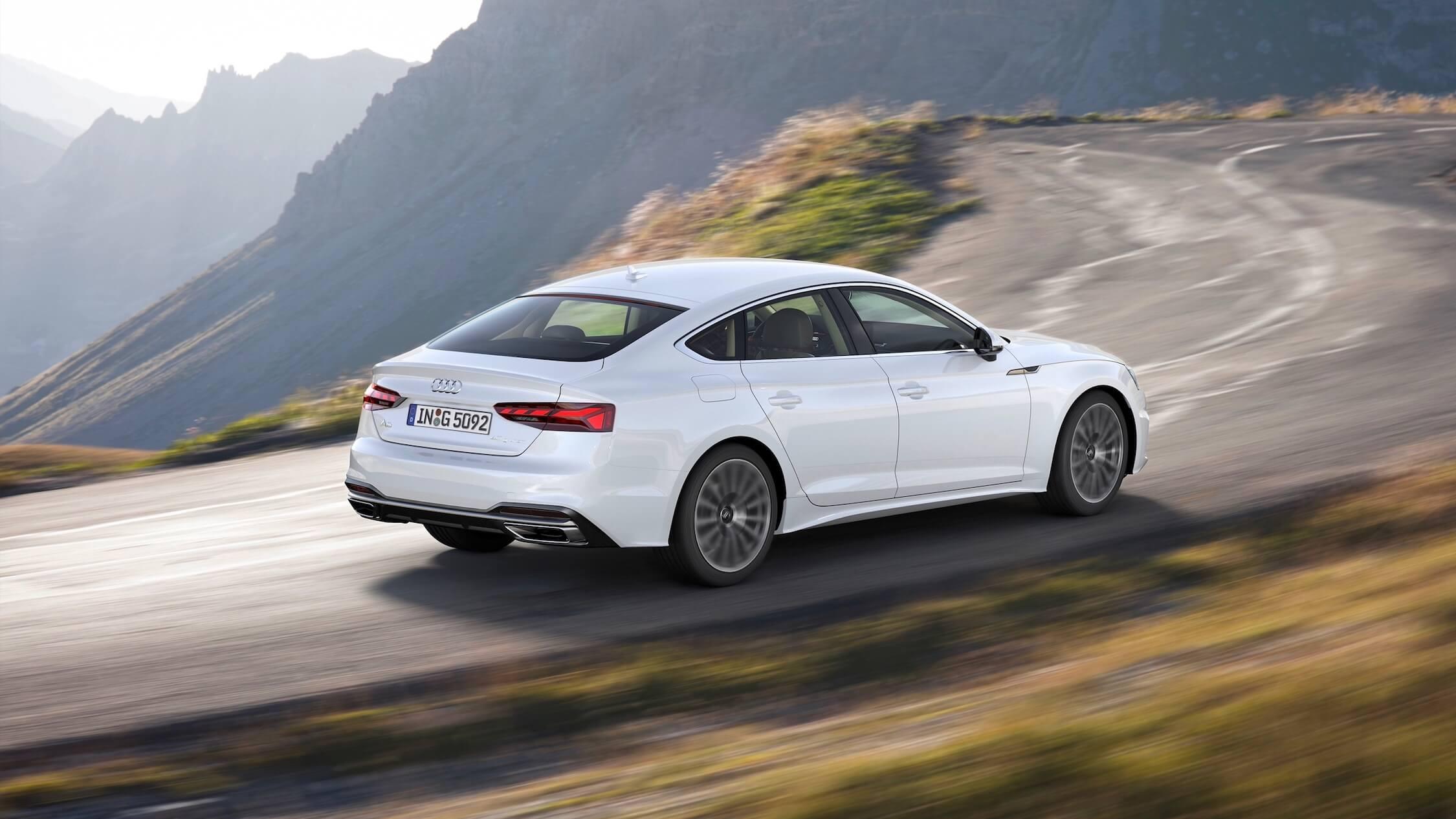 Audi A5 op aardgas