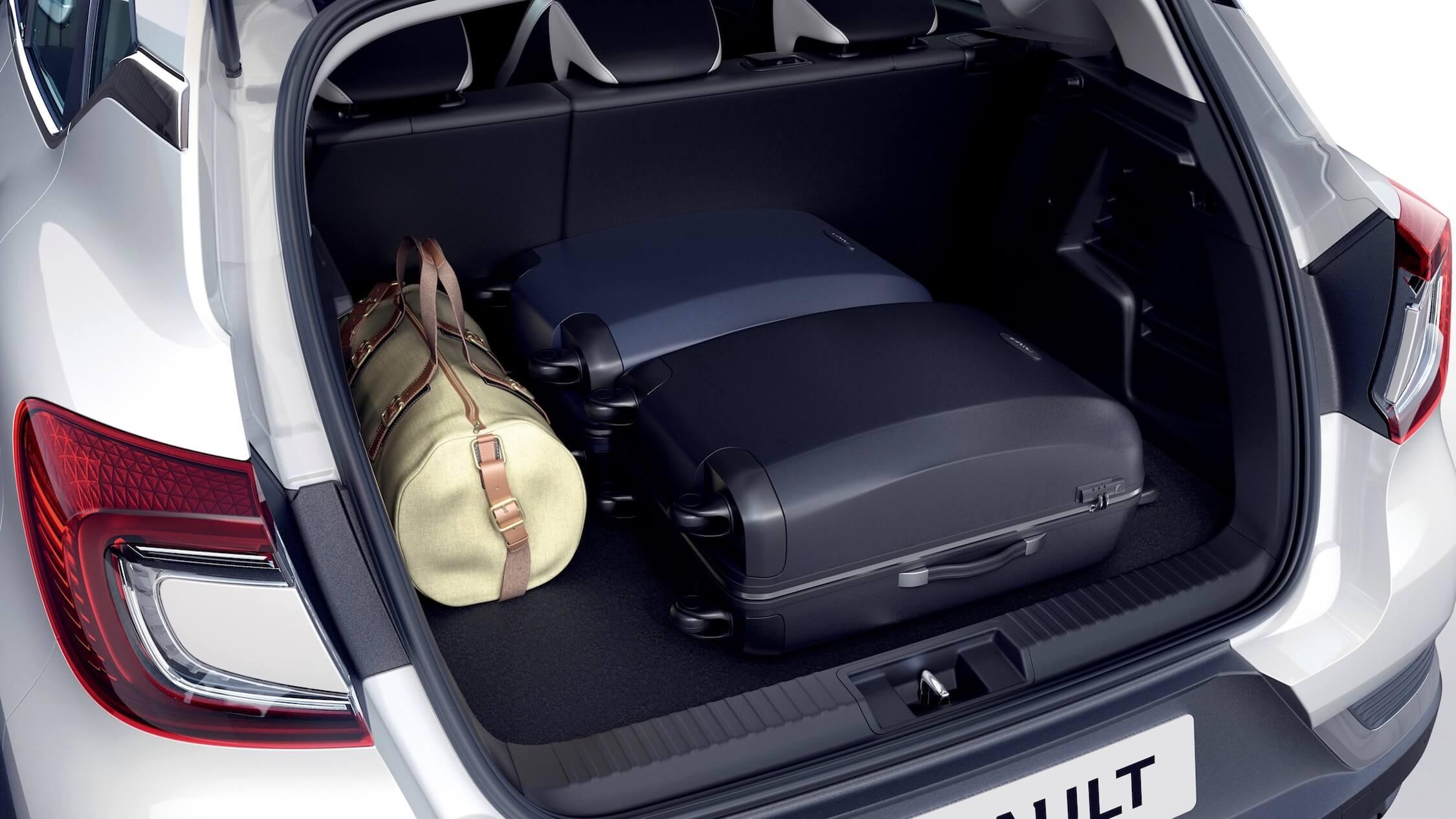 Hybride Renault Captur koffer
