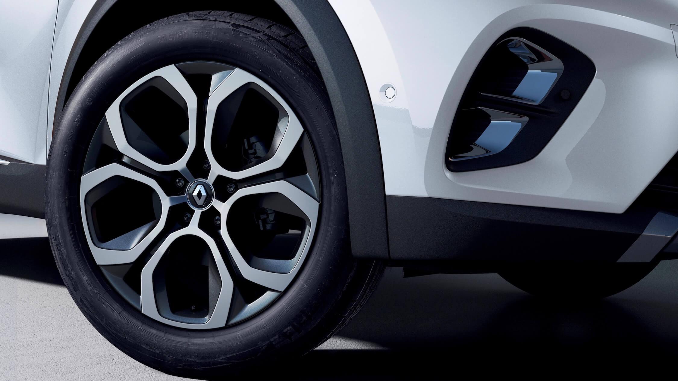 Hybride Renault Captur wiel