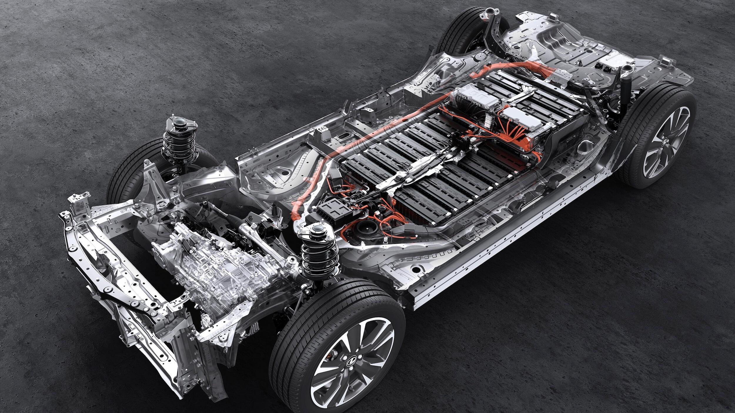 Lexus UX 300e batterij
