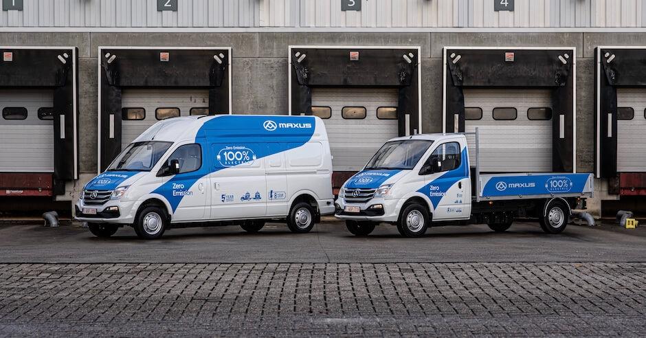 Maxus elektrische bestelwagens 2020
