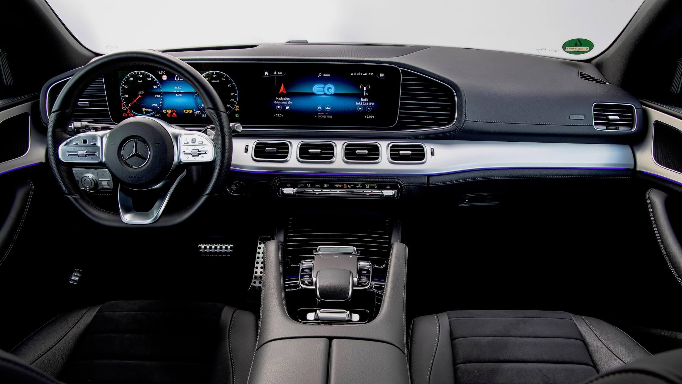 Mercedes GLE 350de interieur