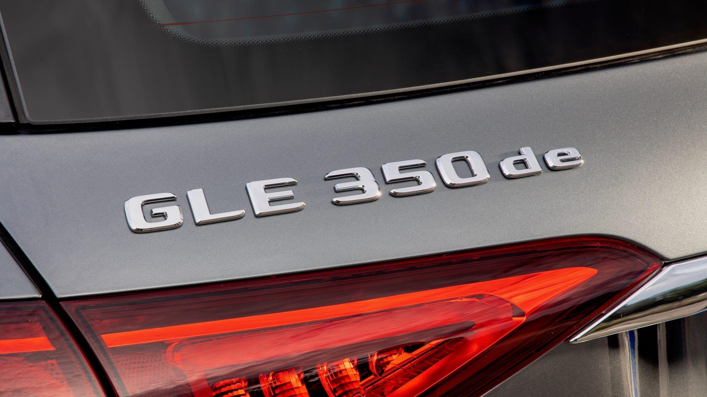 Mercedes GLE 350de logo