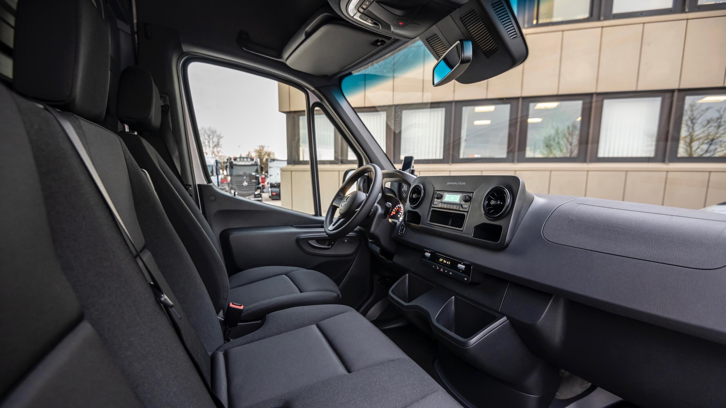Mercedes eSprinter zetels