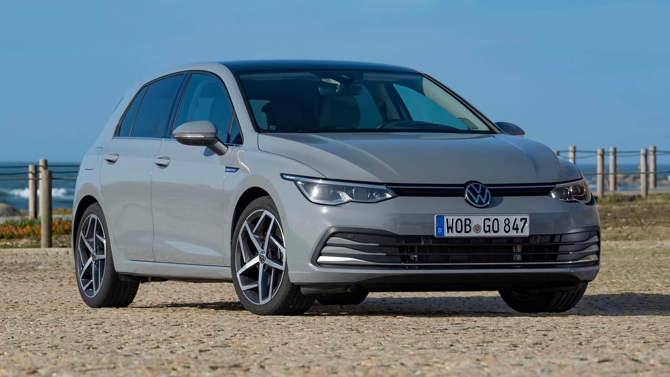 Nieuwe Volkswagen Golf op CNG