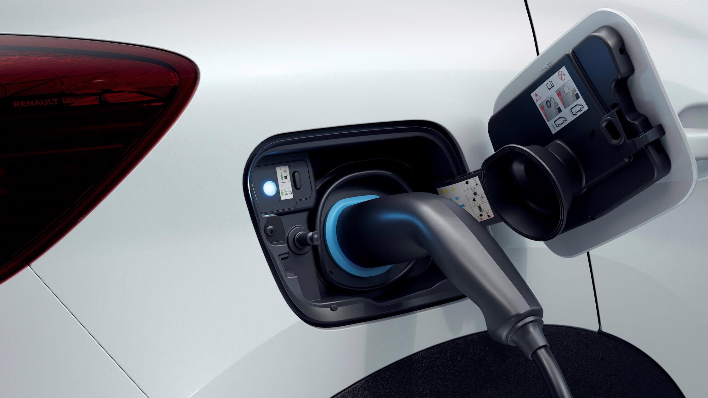 Plug-in hybride Renault Captur opladen