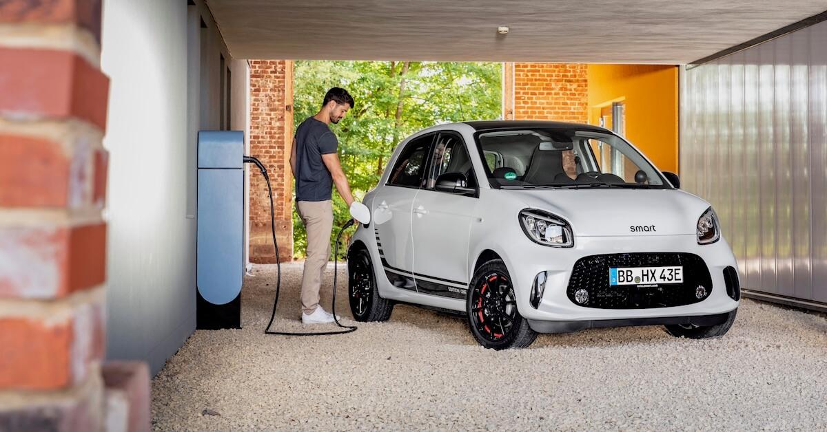 Smart goedkope elektrische wagen