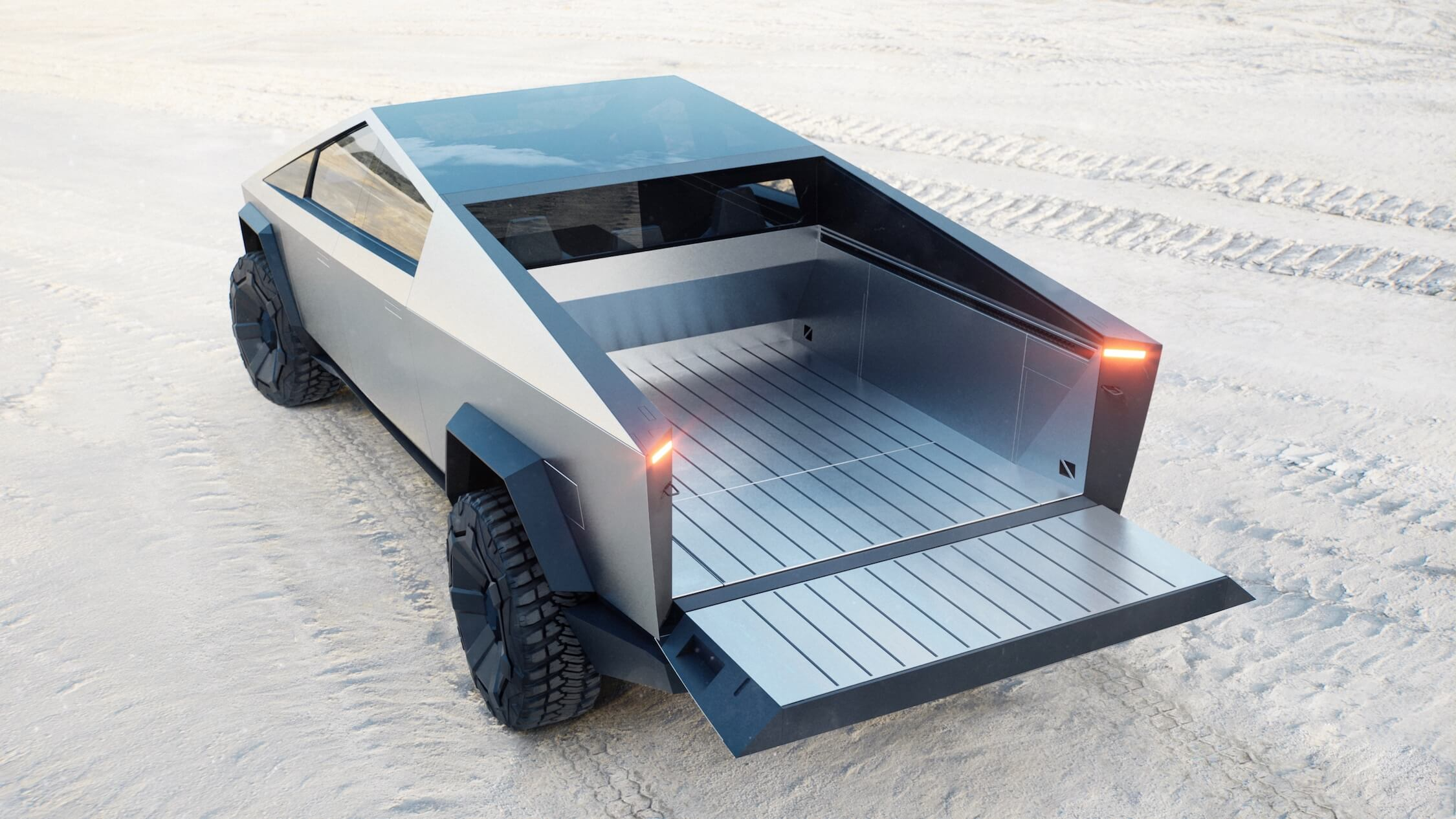Tesla Cybertruck laadbak