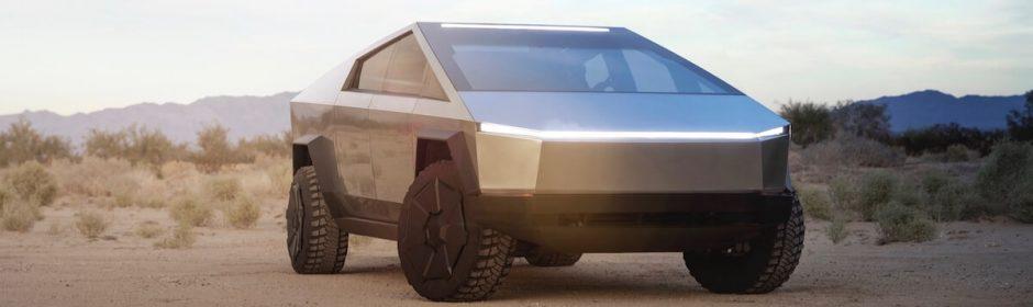 Tesla Truck elektrische terreinwagen