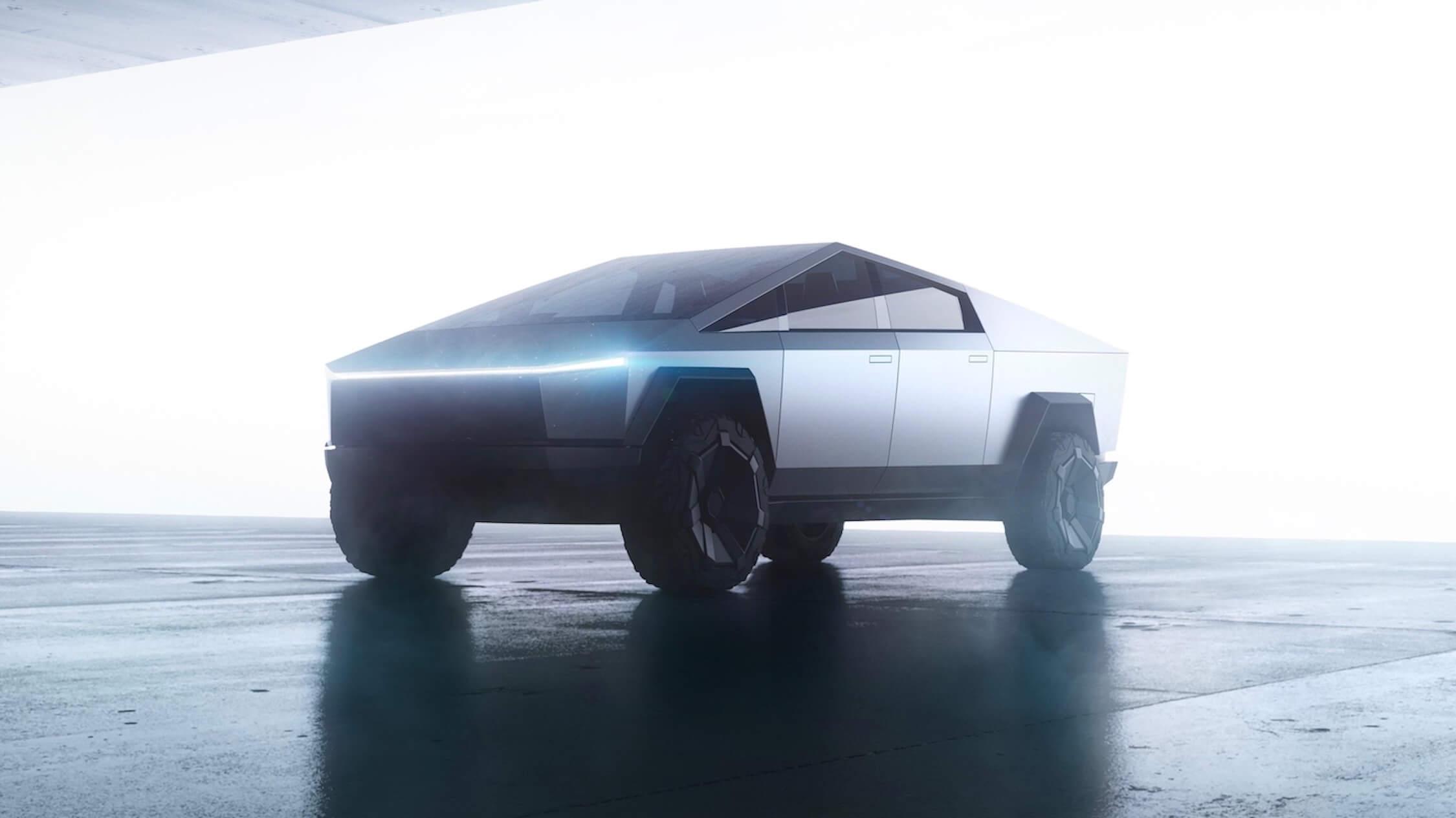 Tesla elektrische terreinwagen