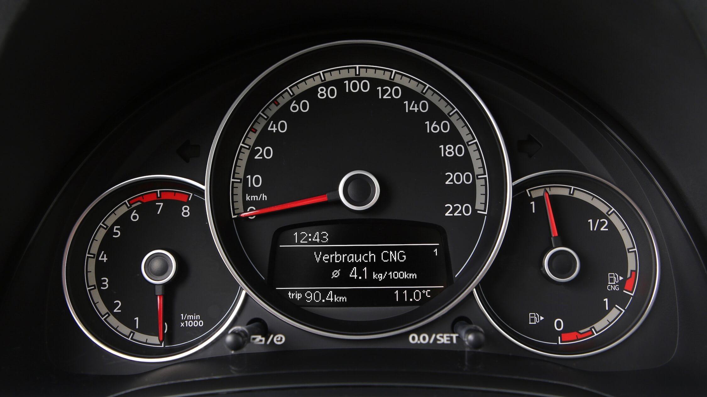 VW Eco Up CNG verbruik