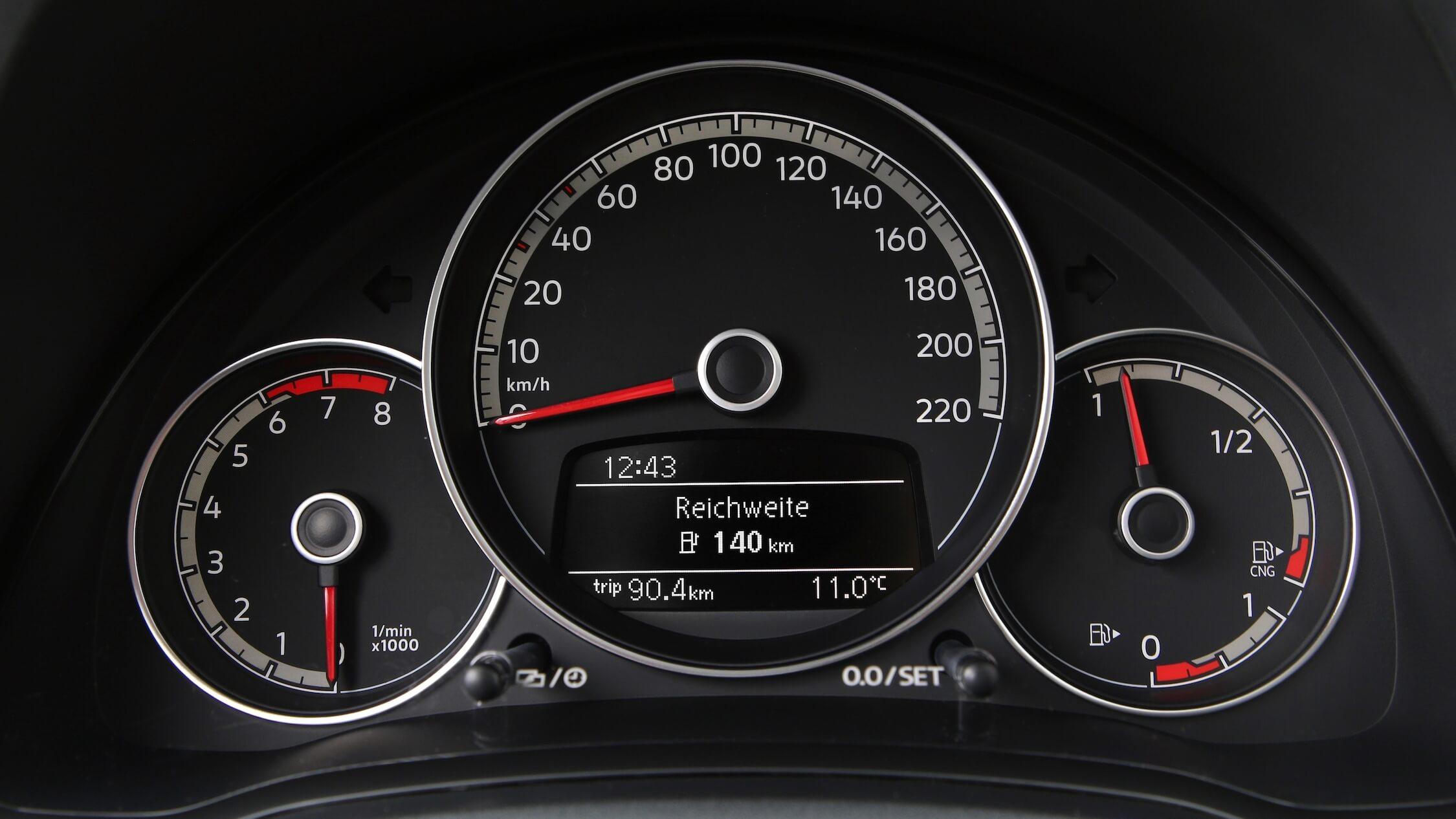 VW Eco Up rijbereik benzine
