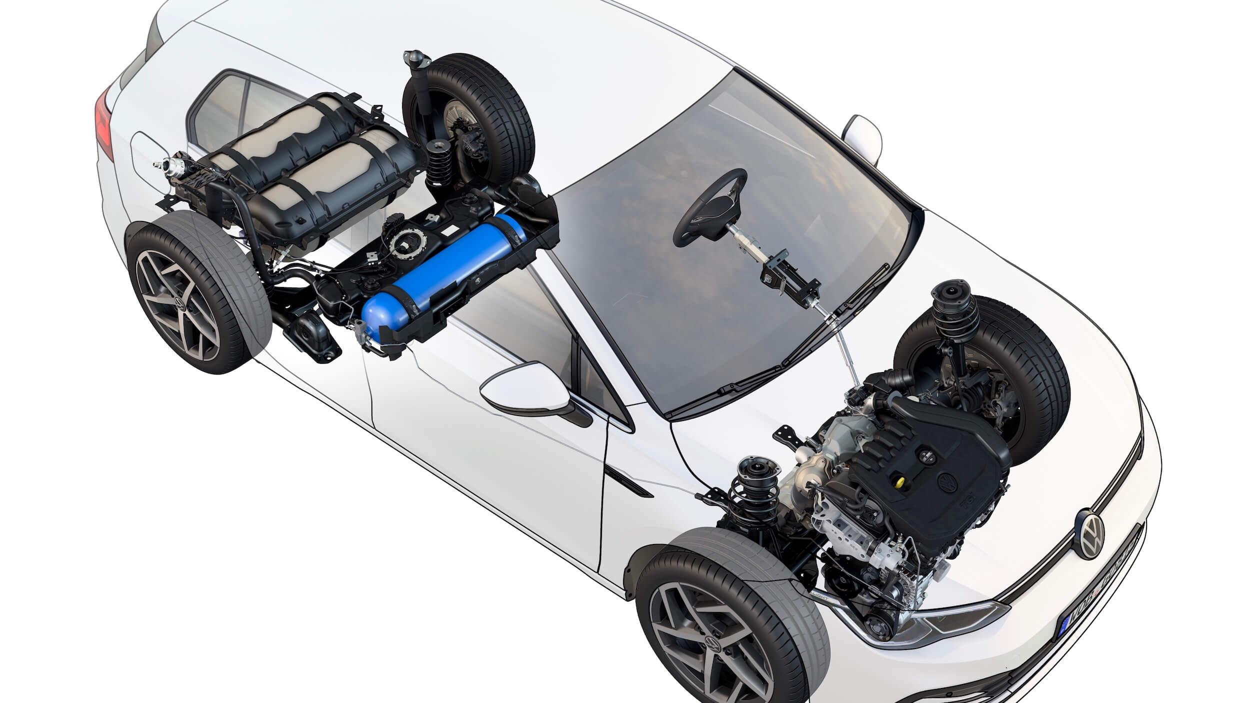 VW Golf 8 CNG TGI
