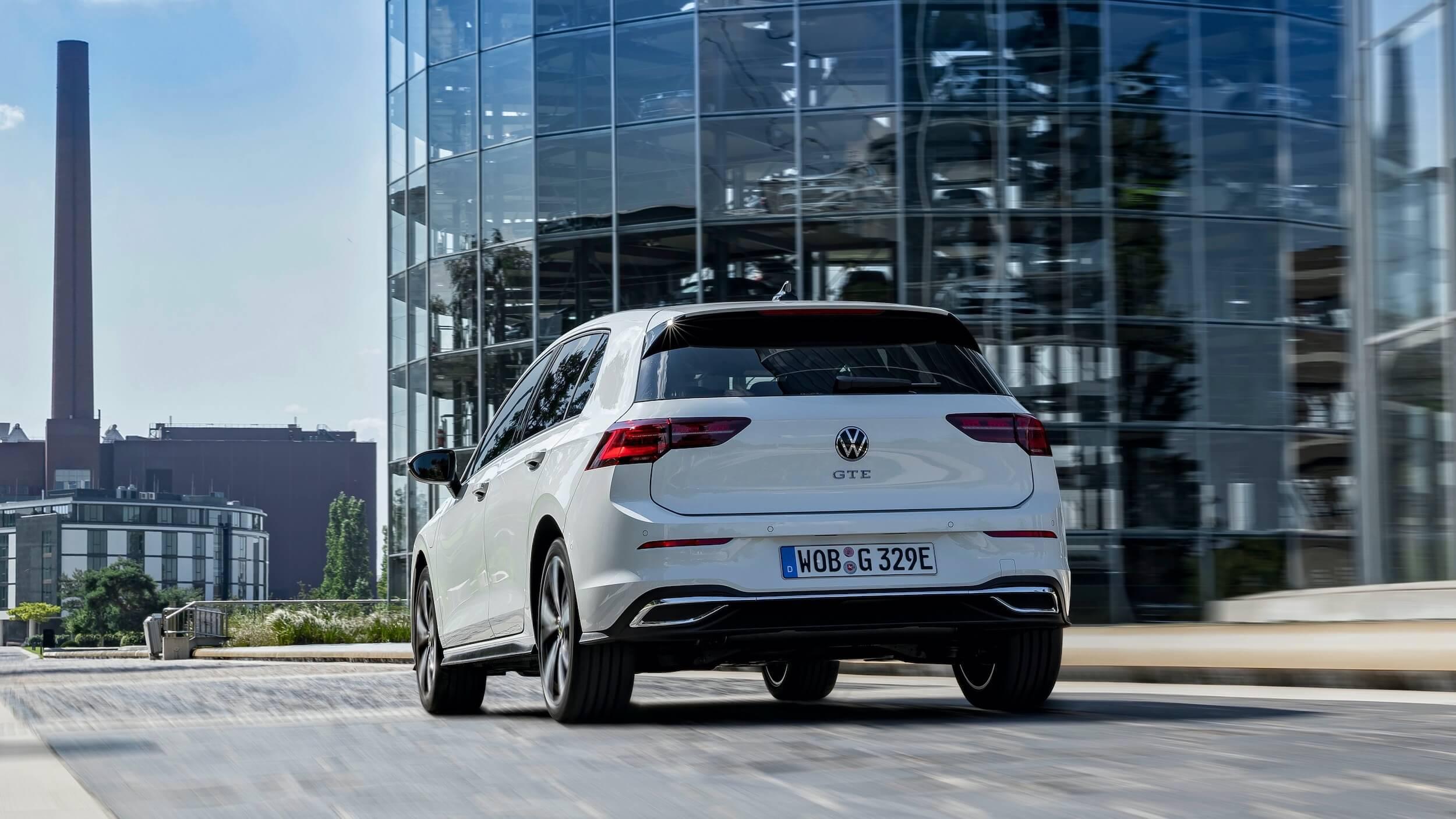 VW Golf VIII GTE hybrid