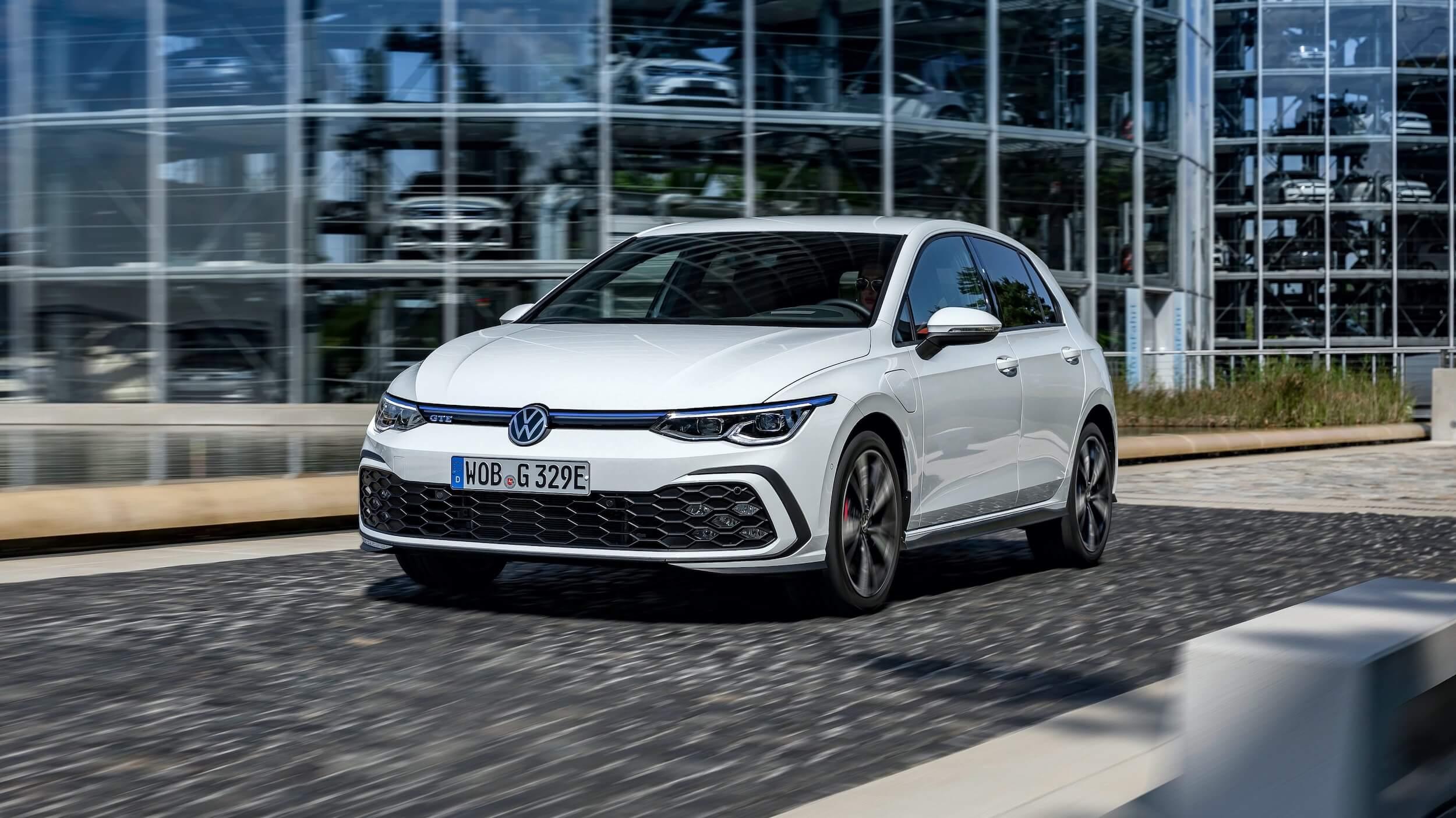VW Golf VIII GTE plug in hybride
