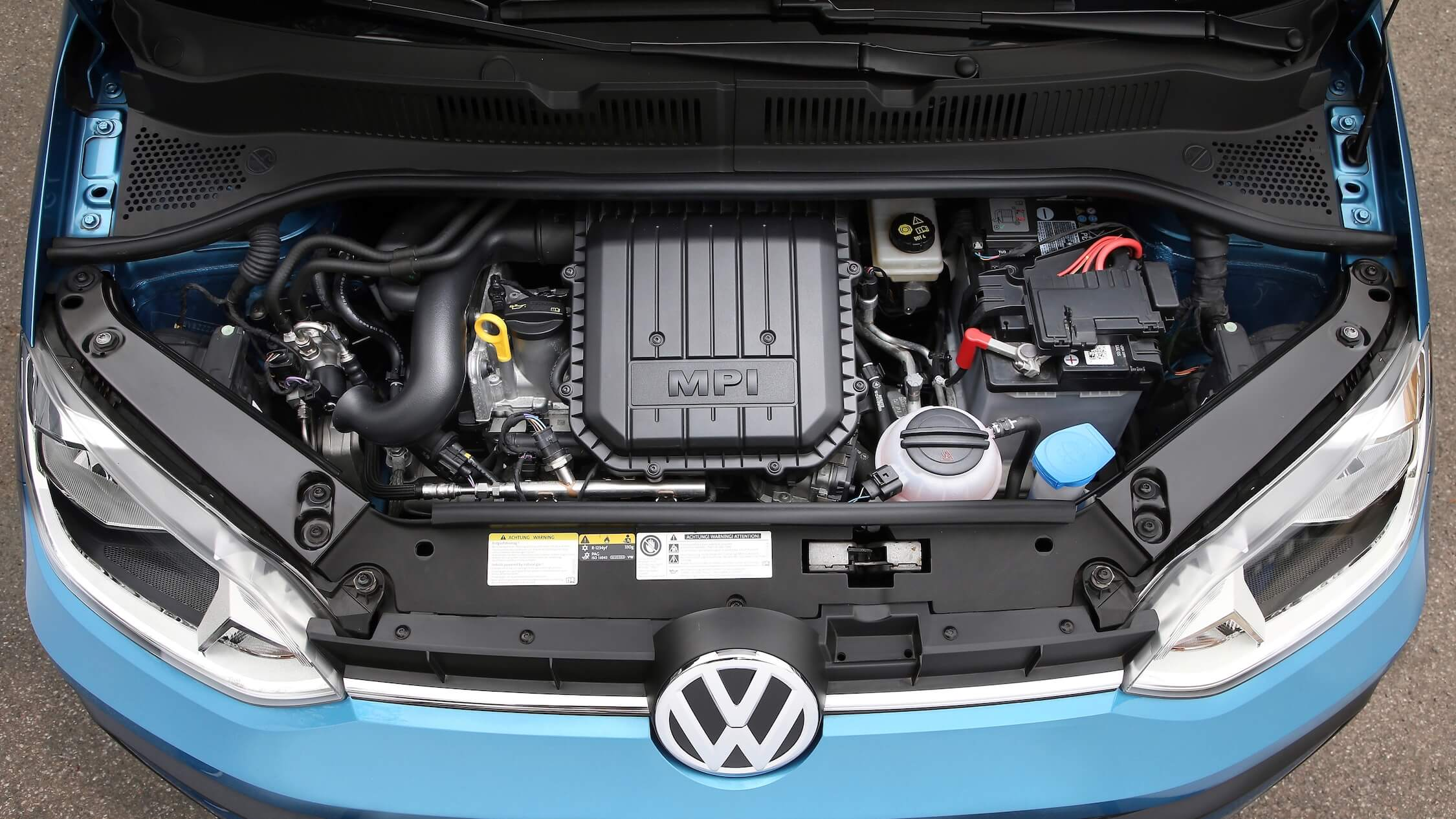 VW Up CNG motor