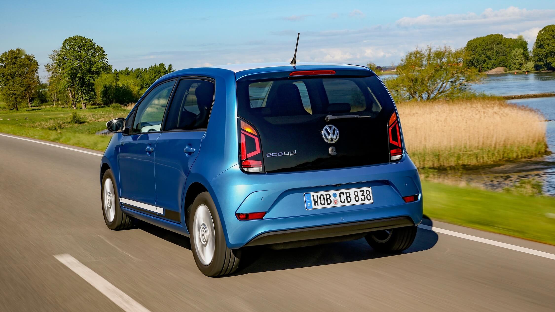 Volkswagen Up op CNG