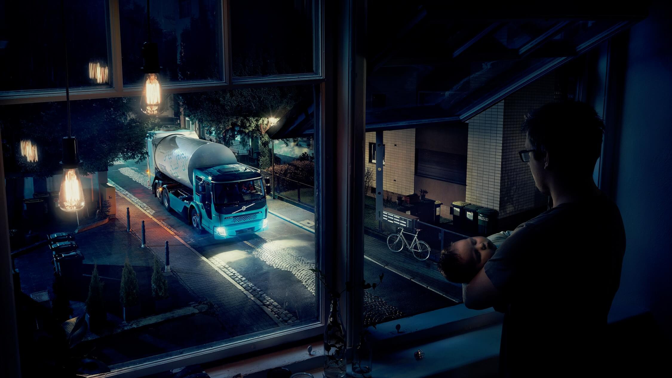 Volvo FE Electric stil