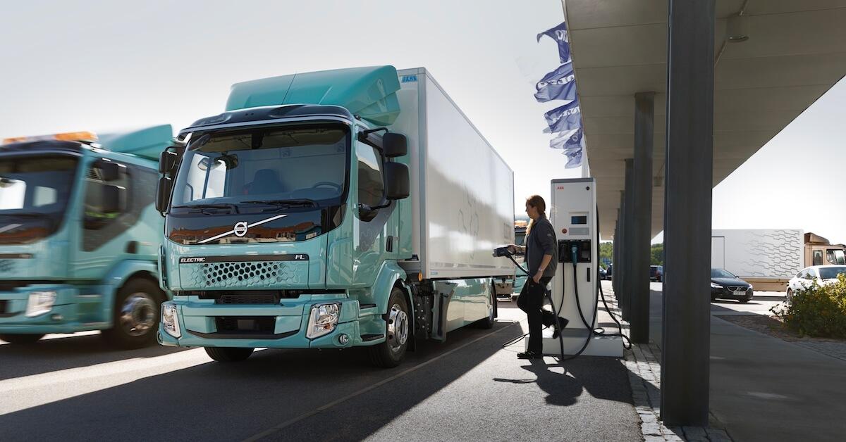 Volvo FL vrachtauto elektrisch