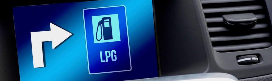 auto op LPG