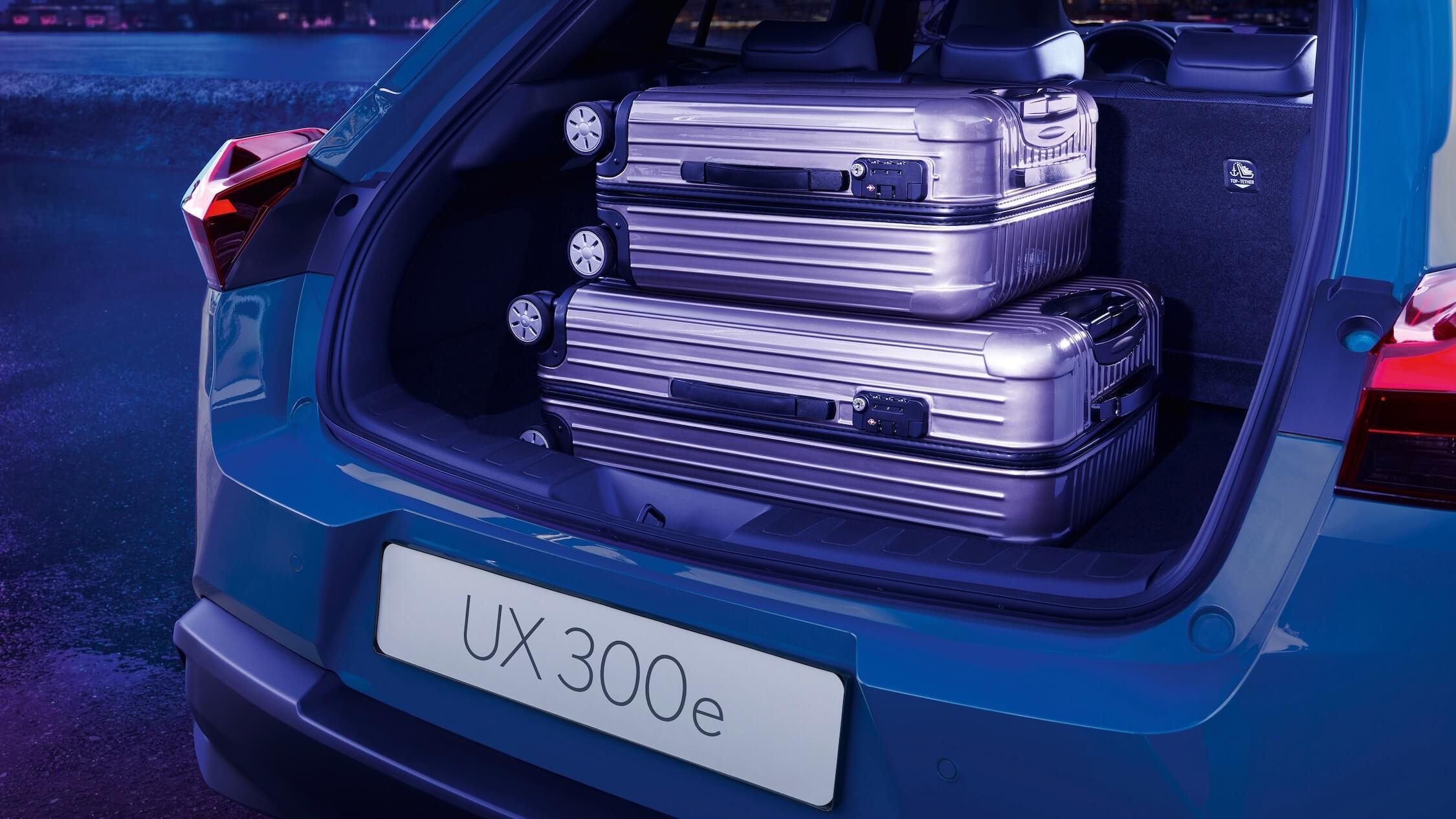 elektrische Lexus UX 300e koffer