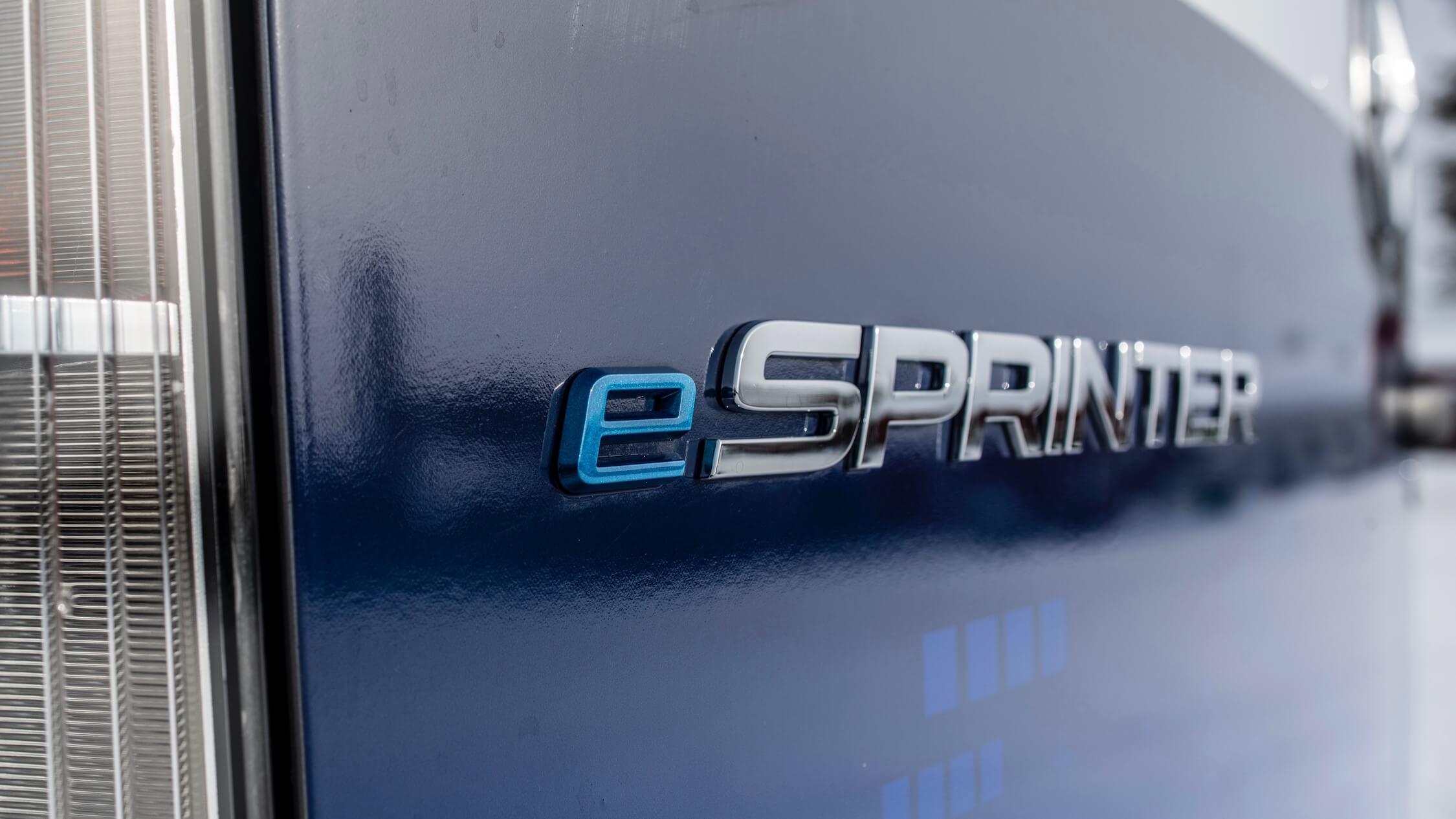 elektrische Mercedes Sprinter logo