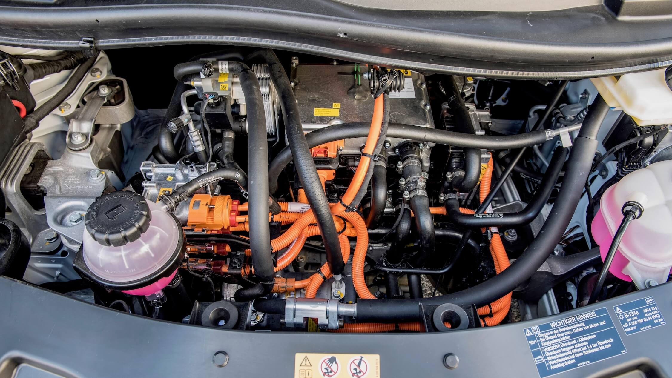 elektrische Mercedes Sprinter motor