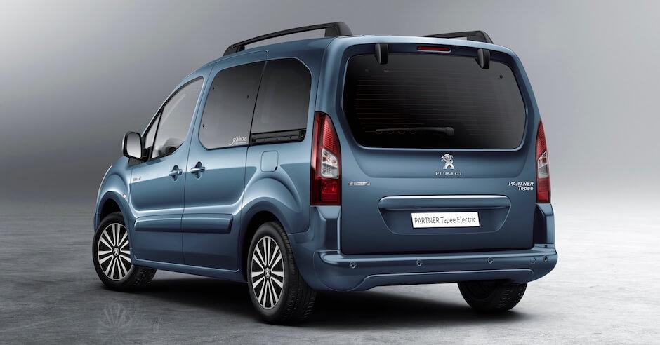 elektrische Peugeot Partner Tepee
