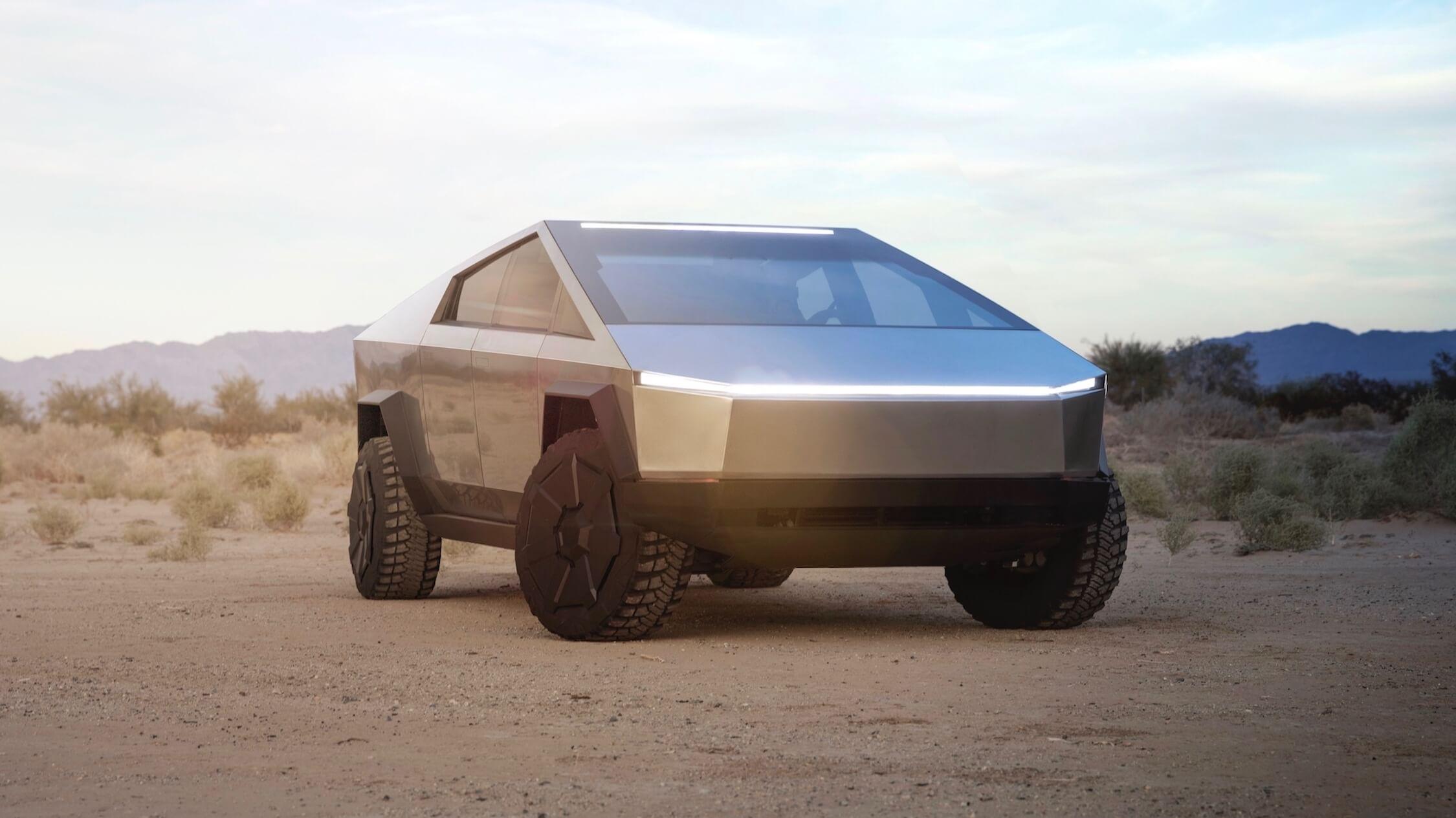elektrische Tesla Cybertruck