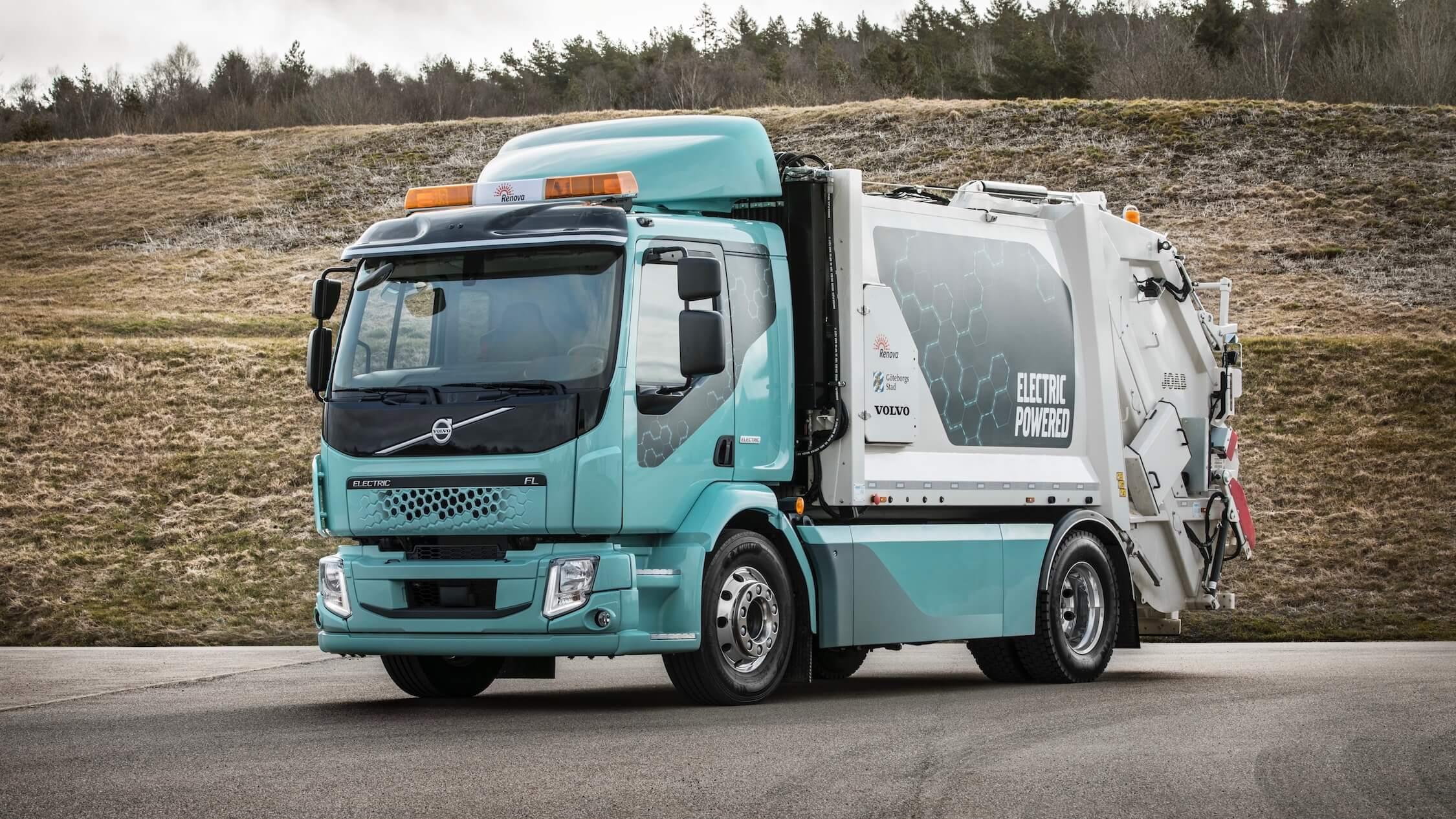 elektrische Volvo FL vuilniswagen