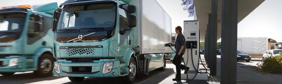 elektrische Volvo Truck FL opladen