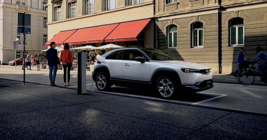 elektrische auto Mazda