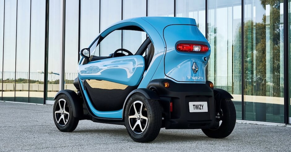 elektrische kleine auto