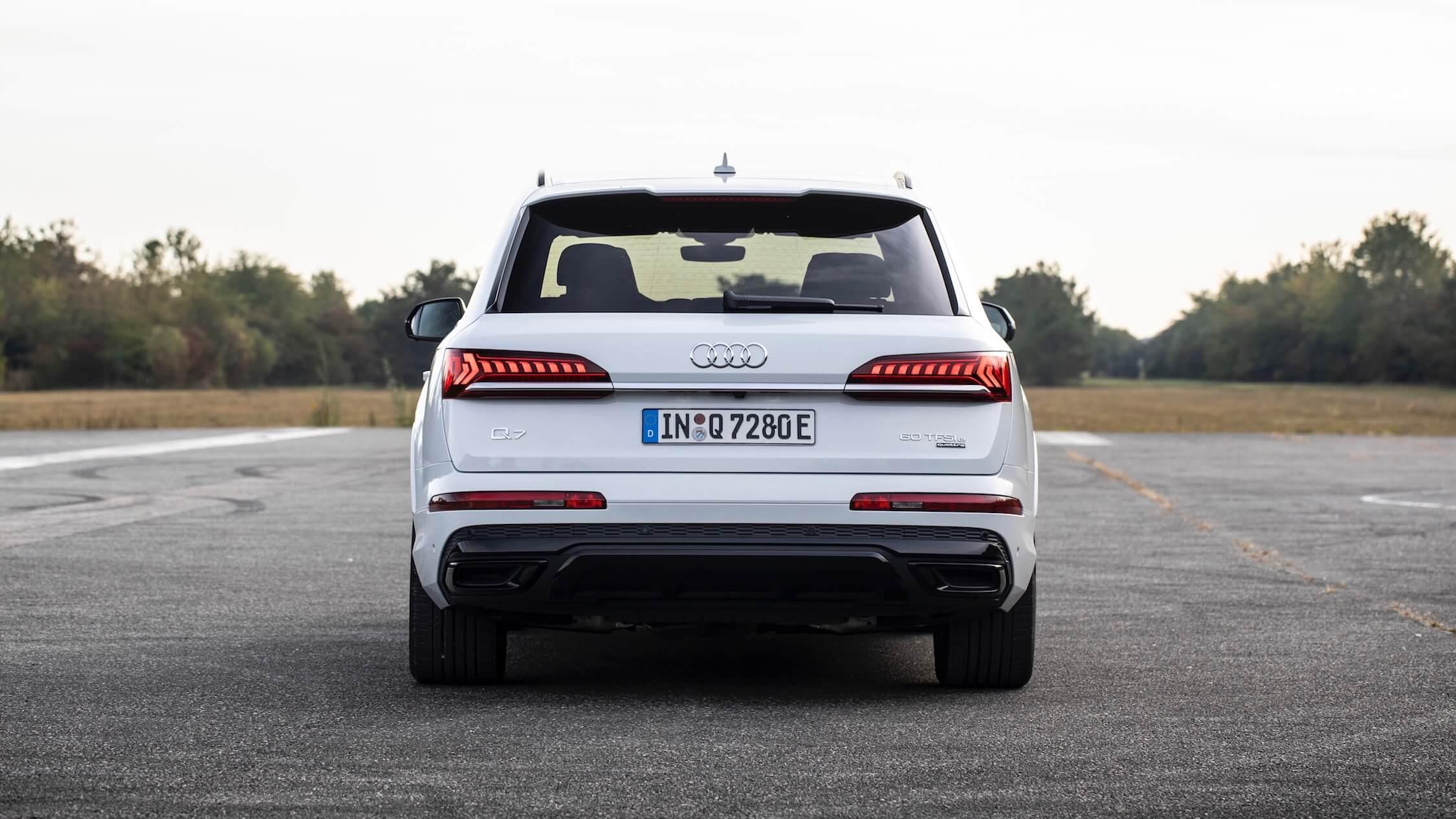 Audi Q7 60 TFSI-e achterkant