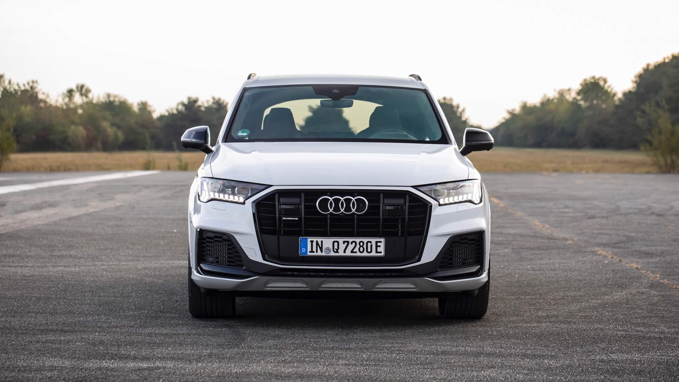 Audi Q7 60 TFSI-e voorkant