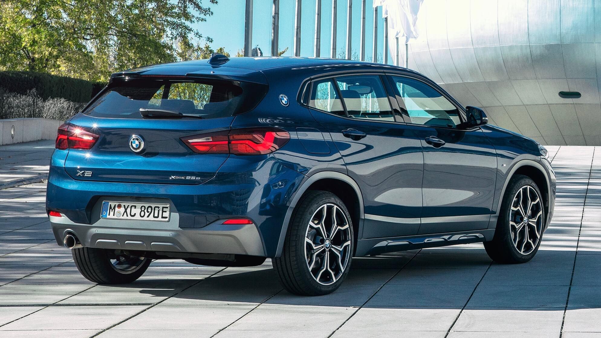 BMW X2 plug-in hybride