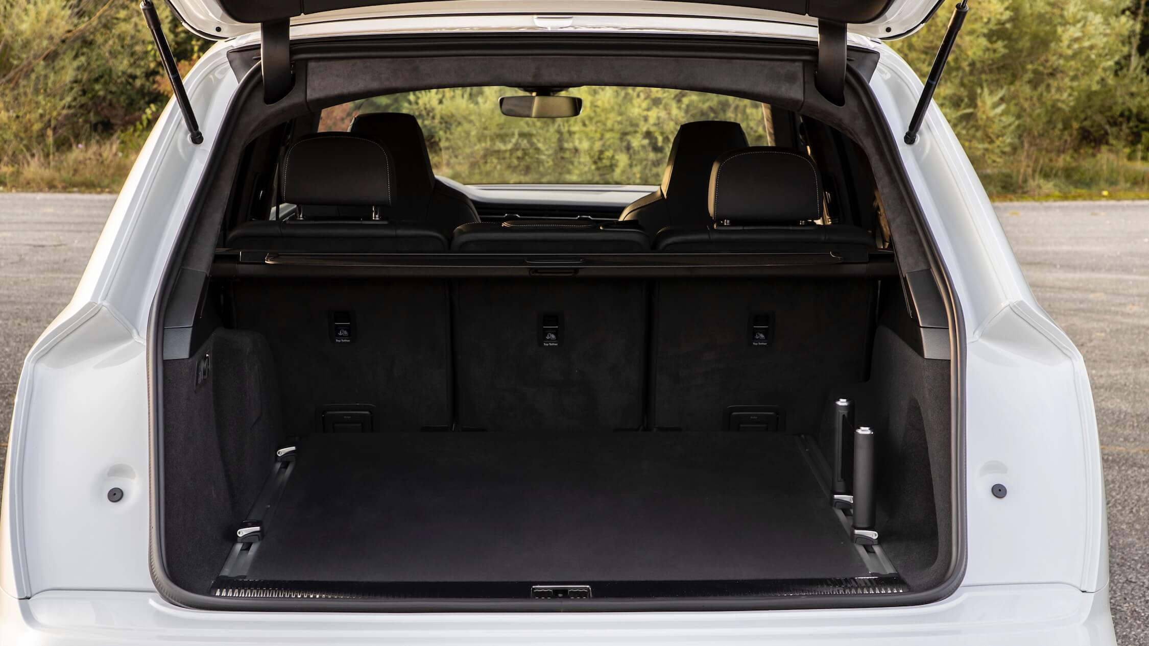 Hybride Audi Q7 koffer